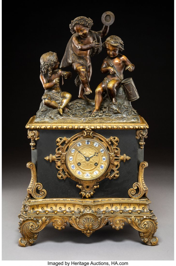 63082: A Rouilly & Hooker Patinated and Gilt Bronze Fig