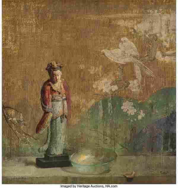 Hovsep Pushman (American, 1877-1966) Still Life,