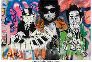 66245: Alec Monopoly (American, b. 1986) Piano, 2010 Ac