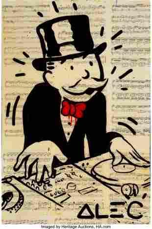66246: Alec Monopoly (American, b. 1986) DJ Monopoly, 2