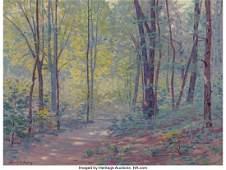57128: Frank V. Dudley (American, 1868-1957) A Springti