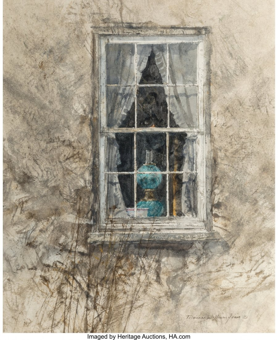 68215: Thomas William Jones (American, b. 1942) Blue La