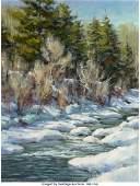 Mitch Billis (American, b. 1937) Landscape with