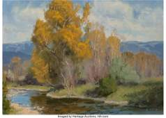 Charles John Fritz (American, b. 1955) River Roa
