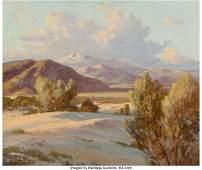 68164: Robert William Wood (American, 1889-1979) Desert