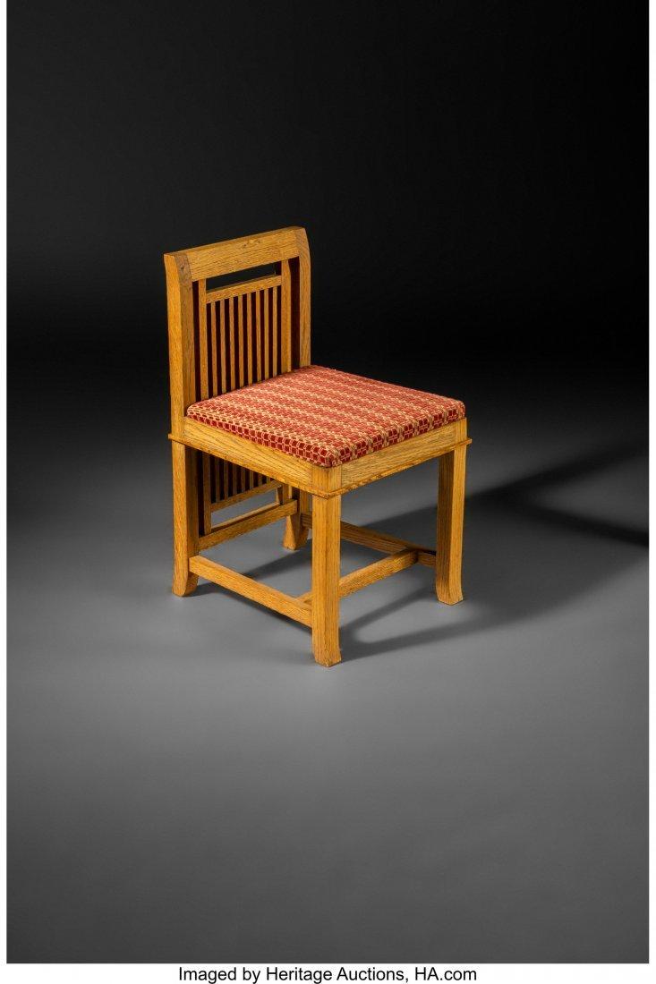 67063: Frank Lloyd Wright (American, 1867-1959) Slipper
