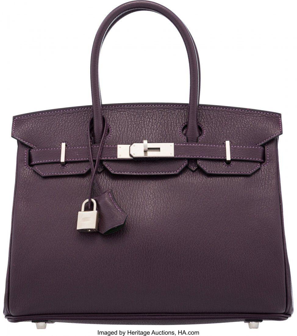 58100: Hermès Special Order Horseshoe 30cm Raisi