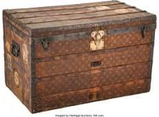 23289: A Vintage Louis Vuitton Monogram Steamer Trunk,