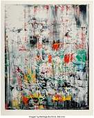 65120: Gerhard Richter (b. 1932) Eis 2, 2003 Screenprin