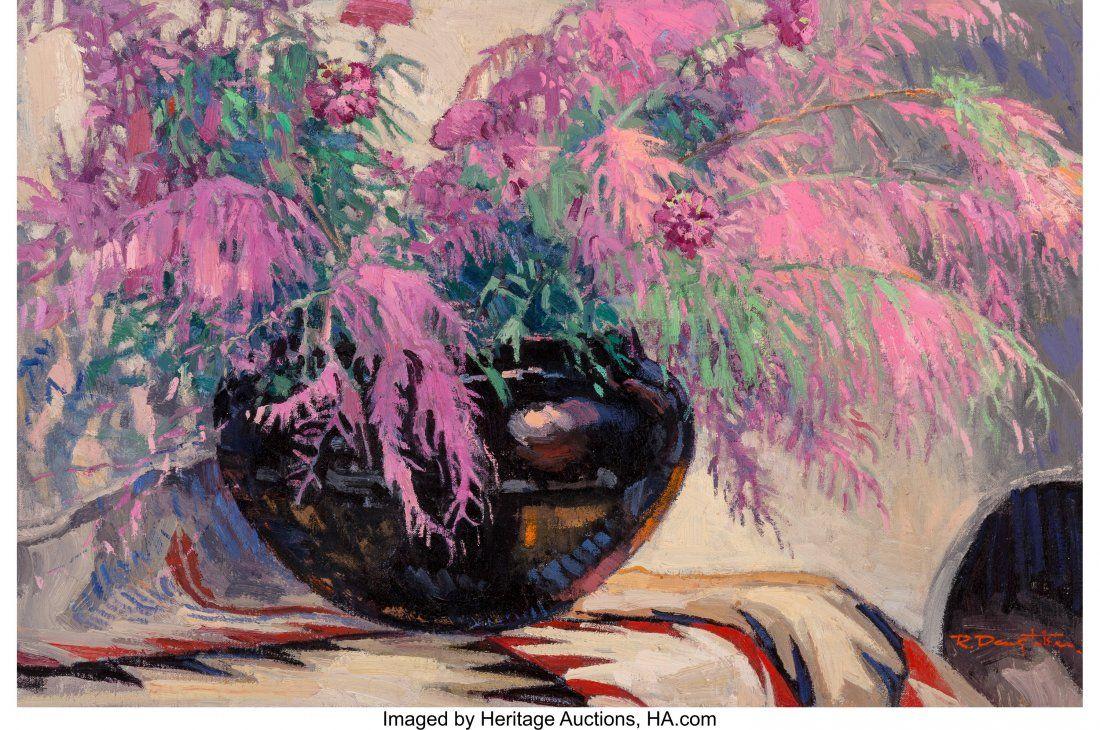 68010: Robert Daughters (American, b. 1929) Autumn Bouq