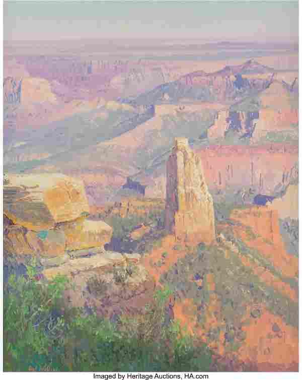 Curt Walters (American, b. 1950) Canyon Sunset O