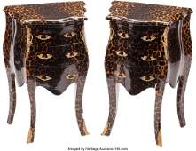 74319: A Pair of Louis XV-Style Gilt Bronze Mounted Har