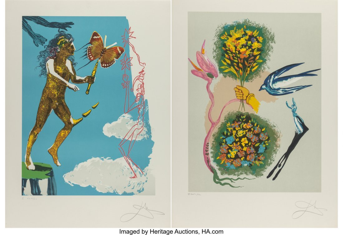 25205: Salvador Dalí (Spanish, 1904-1989) Releas
