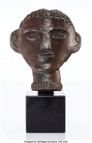 77058: André Derain (1880-1954) Visage gé