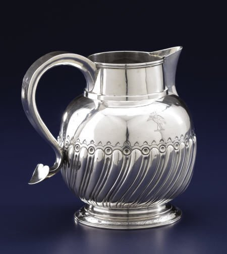 92002: A Thomas Whipham Silver Pitcher