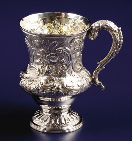 92004: A Georgian Silver Christening Cup