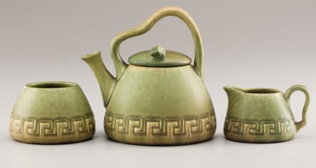 94004: A Rookwood Art Pottery Tea Set