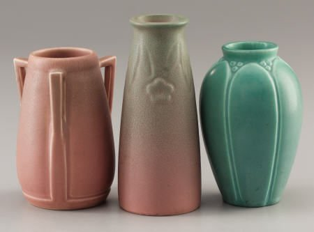 94005: Three Rookwood Art Pottery Vases