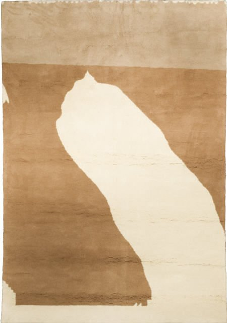 94015: Robert Motherwell, Beige Figuration, tapestry
