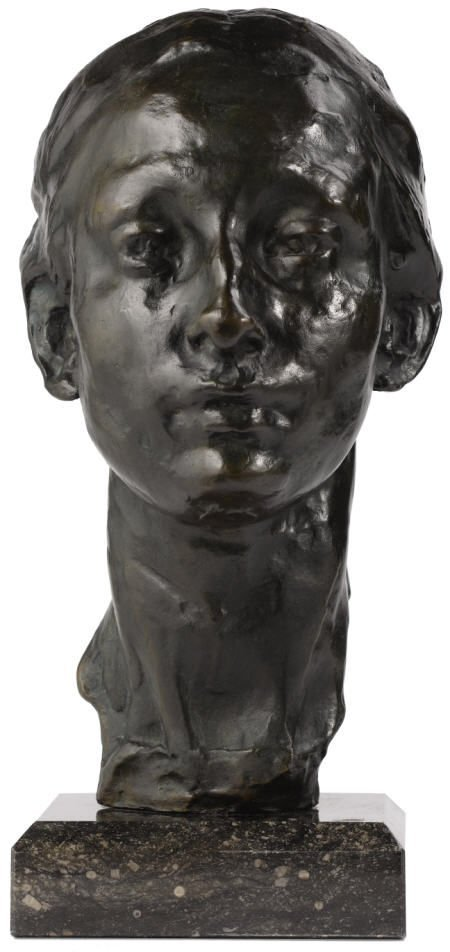 94023: Rik Wouters, Portrait of Nel Wouters, bronze