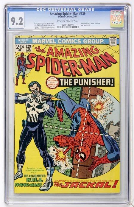 41013: The Amazing Spider-Man #129 (Marvel, 1974) CGC