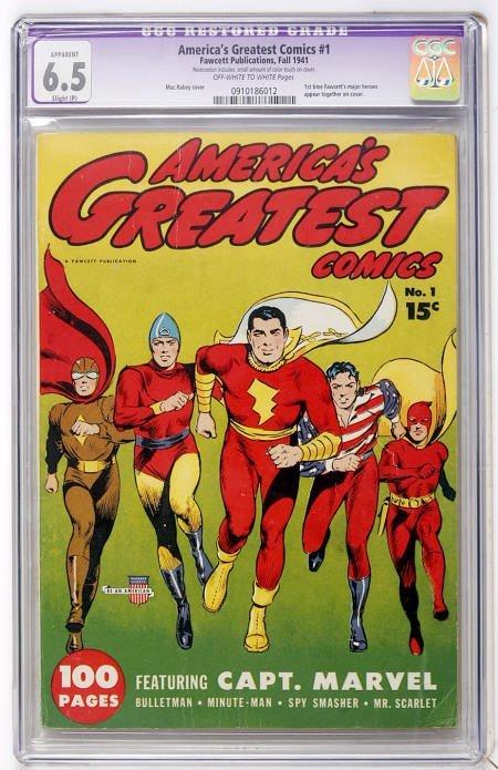 41014: America's Greatest Comics #1 (Fawcett, 1941) CG