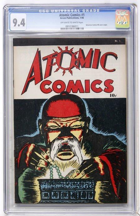 41015: Atomic Comics #1 (Green Publishing Co., 1946)