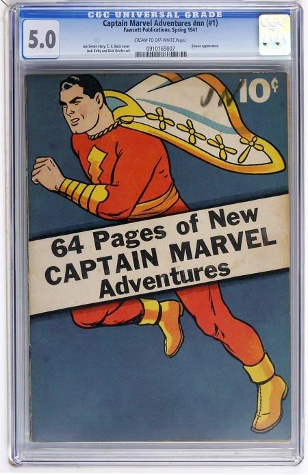 41019: Captain Marvel Adventures #nn (#1) CGC 5.0