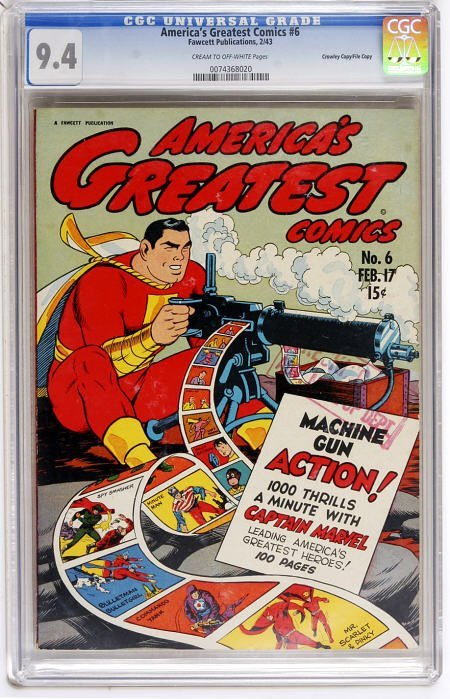 43010: America's Greatest Comics #6 File Copy - Crowle