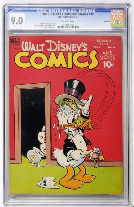 43180: Walt Disney's Comics and Stories #90 File Copy