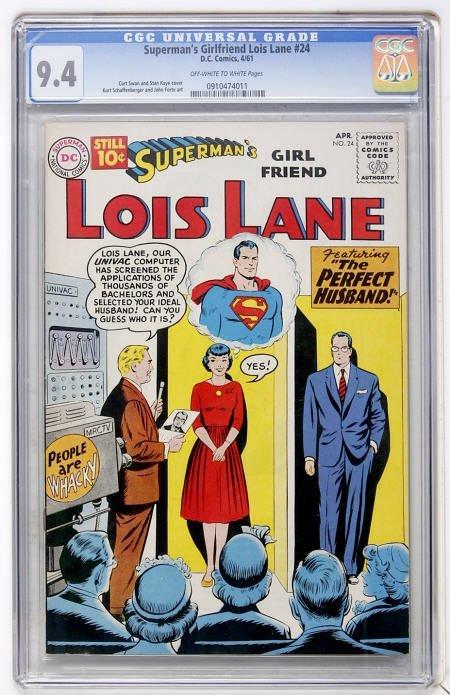43409: Superman's Girl Friend Lois Lane #24 (DC, 1961)