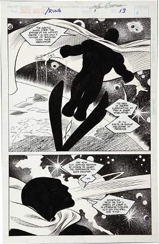 43474: John Buscema and Bill Anderson - Silver Surfer/