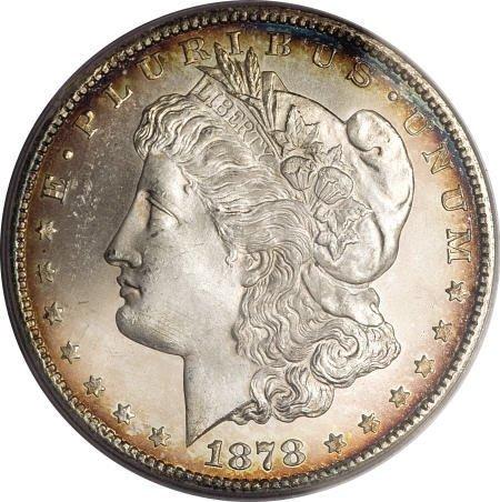 2429: 1878-CC $1 MS66 PCGS.