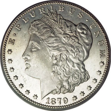 2440: 1879-CC $1 MS64 Prooflike PCGS