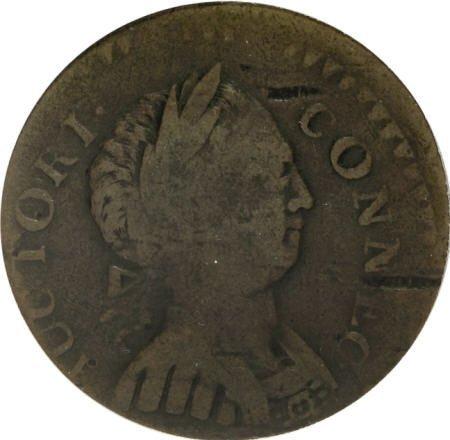 7024: 1786 COPPER Connecticut Copper, Small Head Right