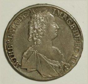 Austria Maria Theresa Taler 1763 Hall, Dav-1121,