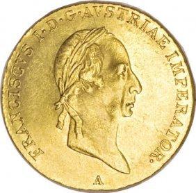 Austria Emperor Franz I Gold Ducat 1830-A,