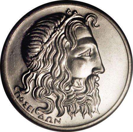 51928: Greece Republic 20 Drachmai 1930, KM73, MS64