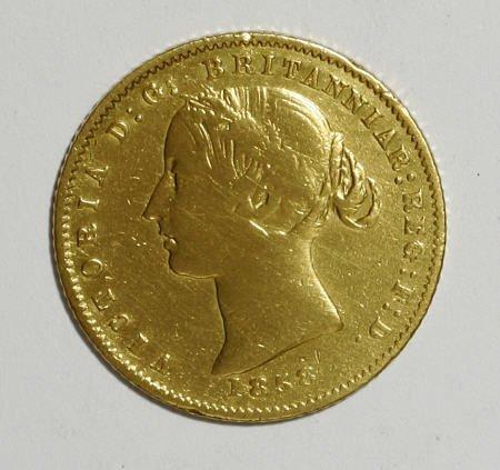 74009: Australia Victoria gold Half Sovereign 1858,