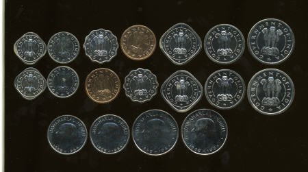 74774: India Mixed proof coins