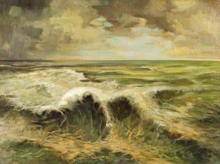 79003: CONSTANTIN ALEKSANDROVICH WESTCHILOFF Seascape