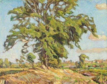 79005: NIKOLAI ALEKSANDROVICH TARKHOV Tree Outside the