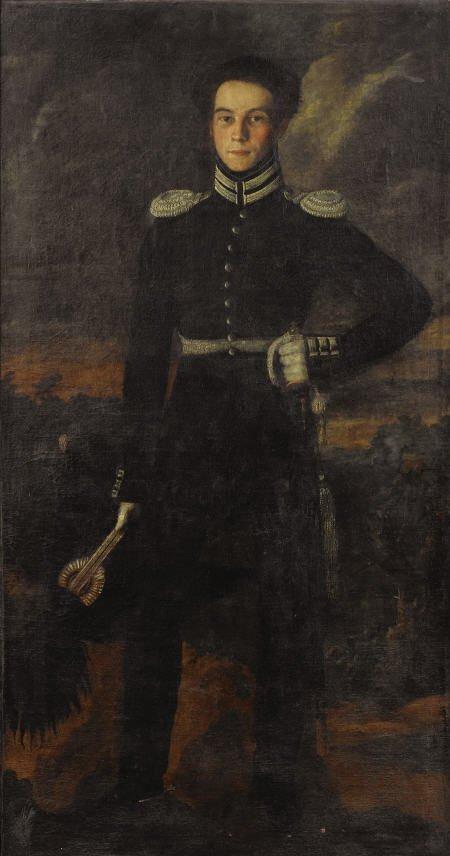 79010: Russian School Portrait of General Ivan