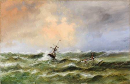 79012: LEV FELIKSOVICH LAGORIO Heavy Seas in the Black