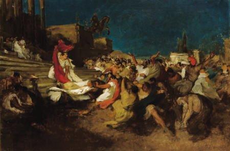 79015: BORIS IZRALLOVICH ANISFELD Caesar and Cleopatra,