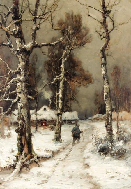 79023: YULIY YULEVICH KLEVER (Russian, 1850-1924)