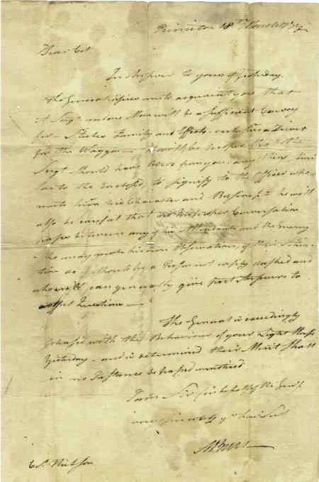 56002: Aaron Burr Rare Autograph Letter Signed
