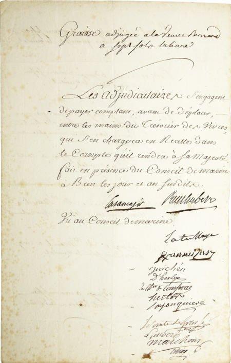 56010: Francois Joseph Paul, Comte de Grasse DS