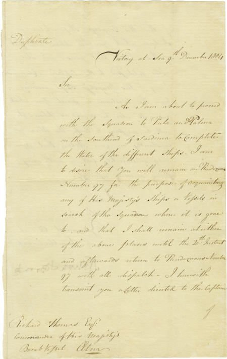 56024: Horatio Nelson Bronte Victory Trafalgar Admiral