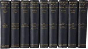 57072: Holdworth?s History of English Law, 9 volumes